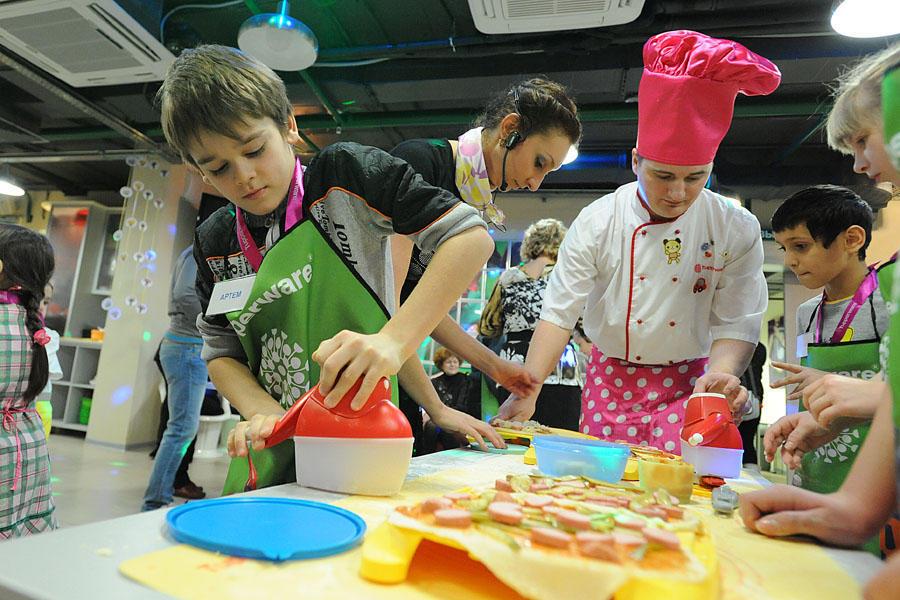 30 Учим детей готовить