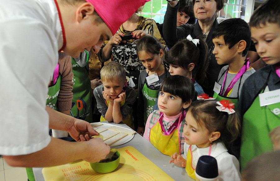 37 Учим детей готовить
