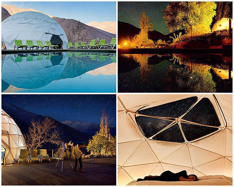 Отель Elqui Domos для любителей астрономии