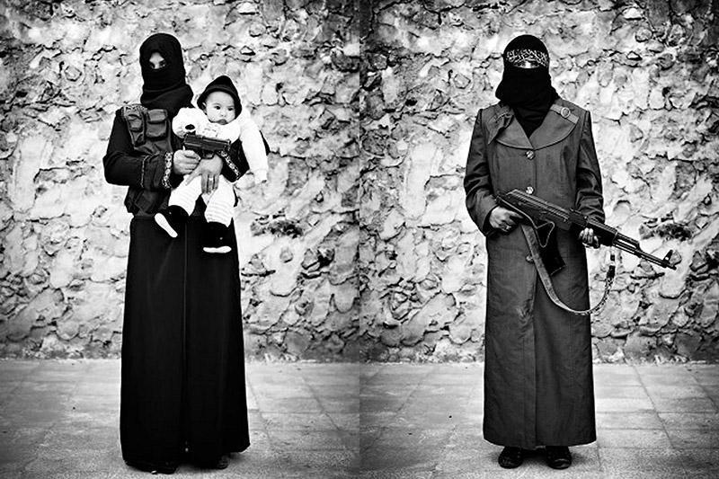 Женщины-воины Свободной сирийской армии