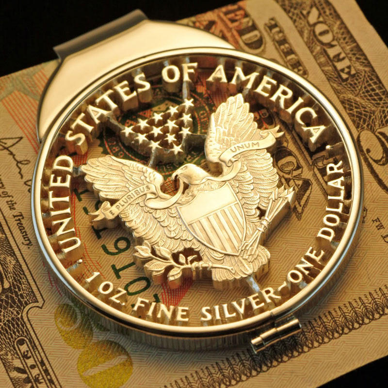 CutCoin21 Удивительная резьба по монетам