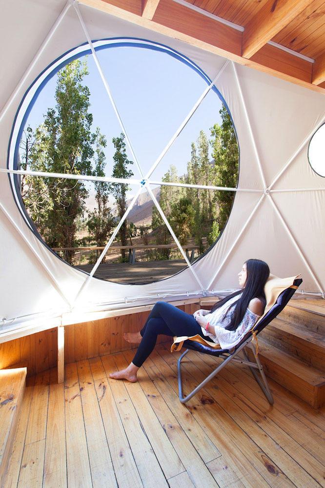 ElquiDomos02 Отель Elqui Domos для любителей астрономии