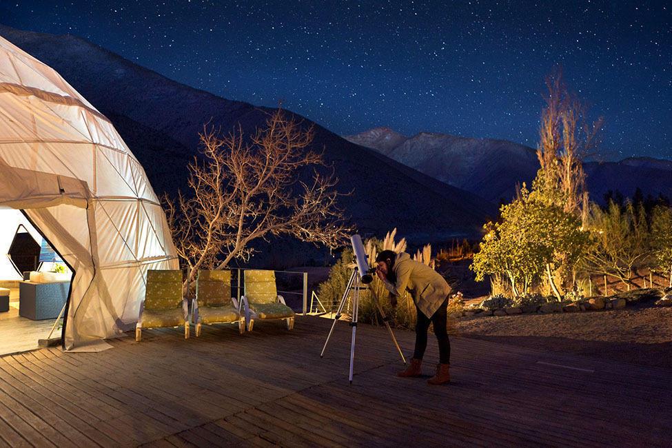 ElquiDomos13 Отель Elqui Domos для любителей астрономии