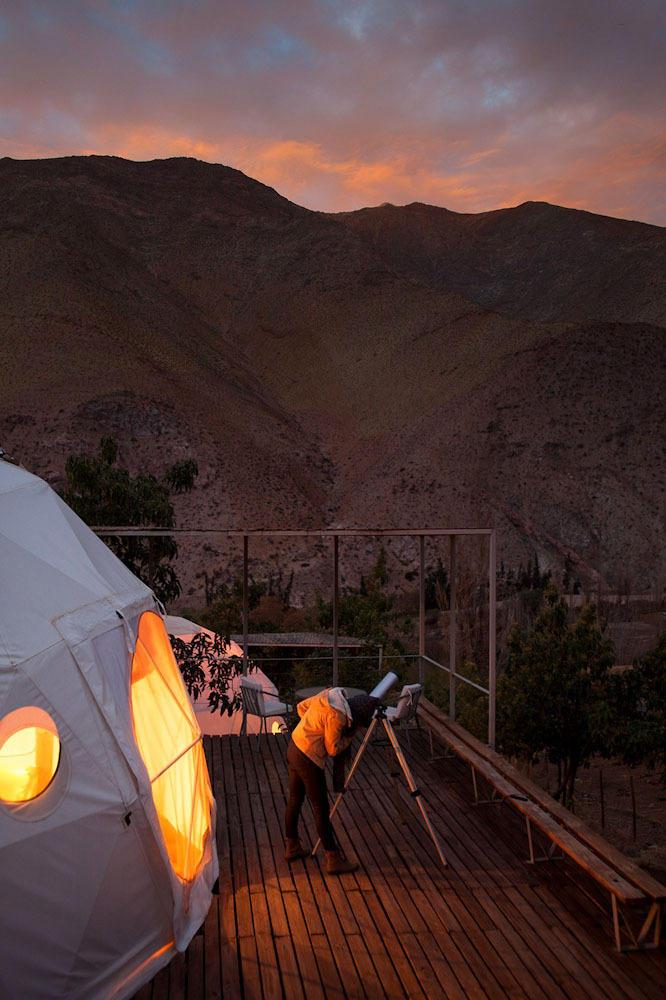 ElquiDomos14 Отель Elqui Domos для любителей астрономии
