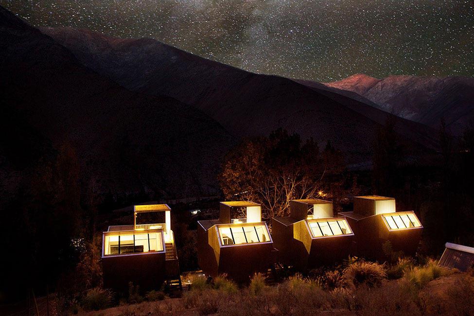 ElquiDomos16 Отель Elqui Domos для любителей астрономии