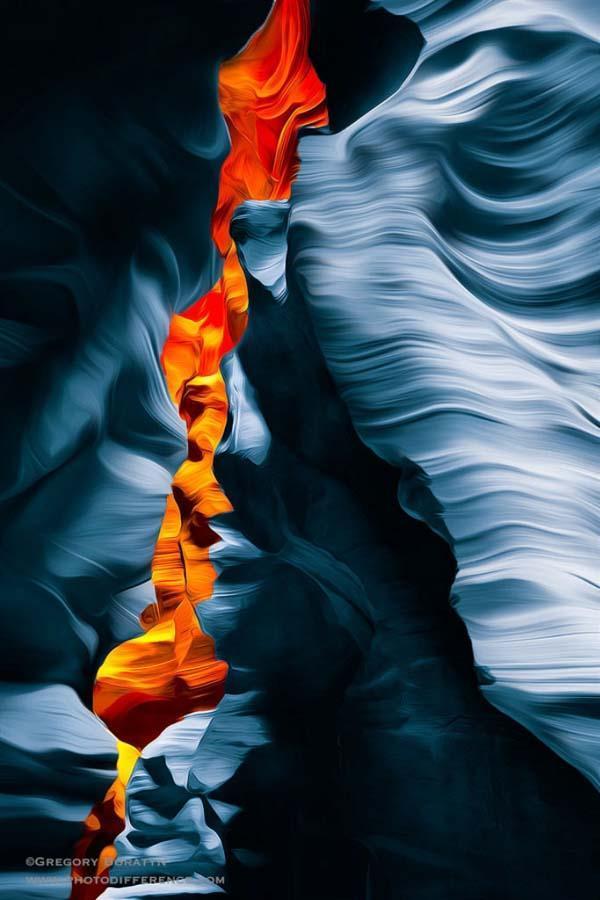 Gregory Boratyn 13 Удивительная красота каньона Антилопы
