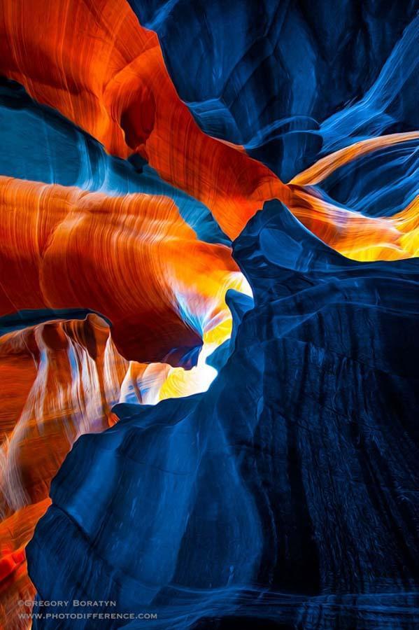 Gregory Boratyn 18 Удивительная красота каньона Антилопы