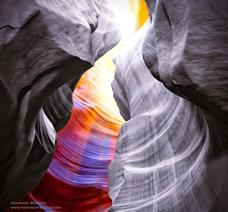 Gregory Boratyn 8 Удивительная красота каньона Антилопы