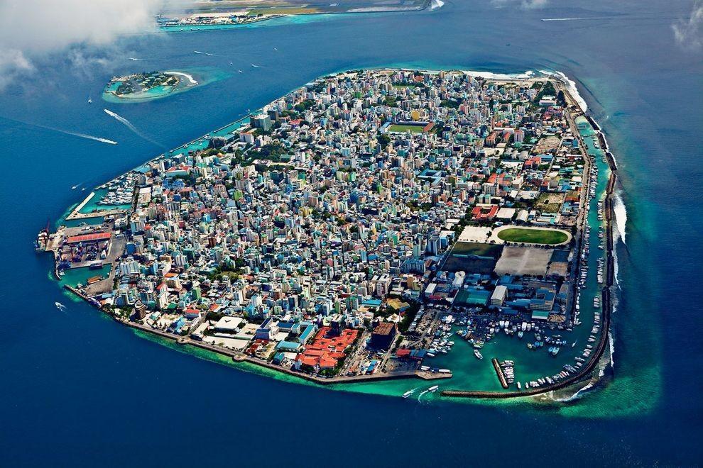 Maa Lay22 Город в океане