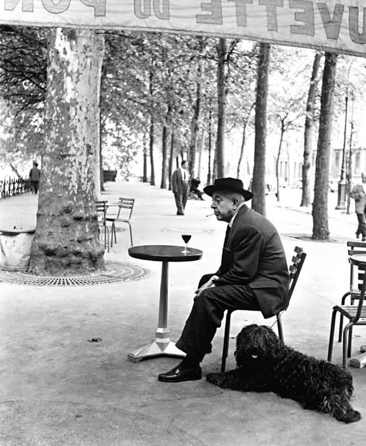 ROBERT DOISNEAU 18罗伯特Doisneau  - 在巴黎的照片的人,谁唱