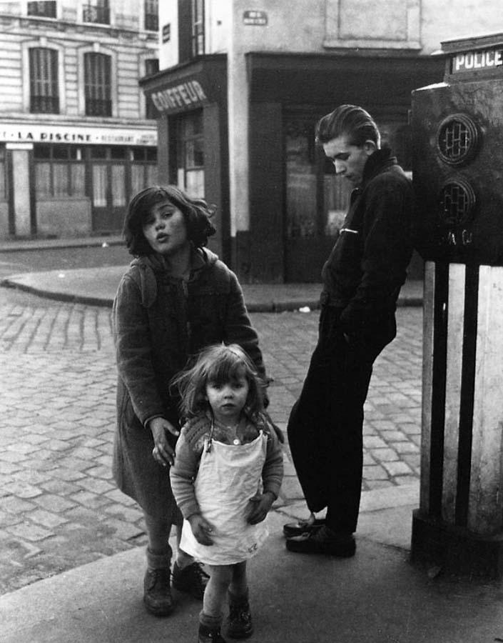 ROBERT DOISNEAU 25罗伯特Doisneau  - 在巴黎的照片的人,谁唱