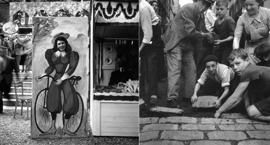 ROBERT DOISNEAU 38罗伯特Doisneau  - 在巴黎的照片的人,谁唱