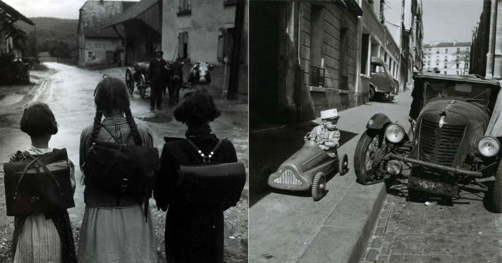 ROBERT DOISNEAU 40罗伯特Doisneau  - 在巴黎的照片的人,谁唱