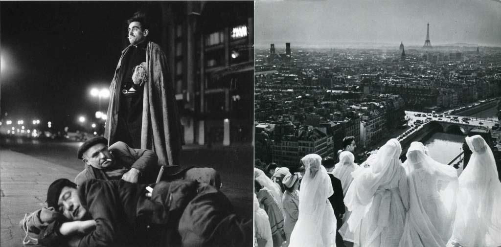 ROBERT DOISNEAU 44罗伯特Doisneau  - 在巴黎的照片的人,谁唱