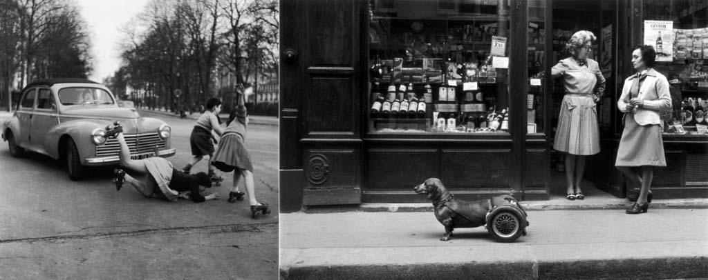 ROBERT DOISNEAU 46罗伯特Doisneau  - 在巴黎的照片的人,谁唱
