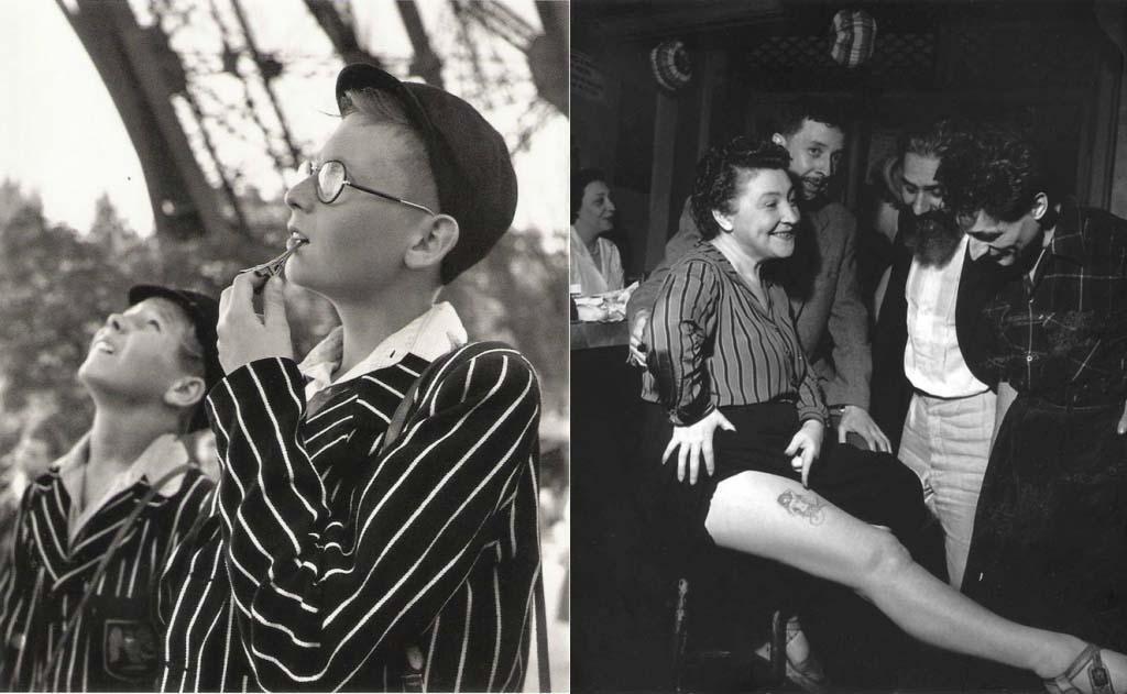 ROBERT DOISNEAU 49罗伯特Doisneau  - 在巴黎的照片的人,谁唱