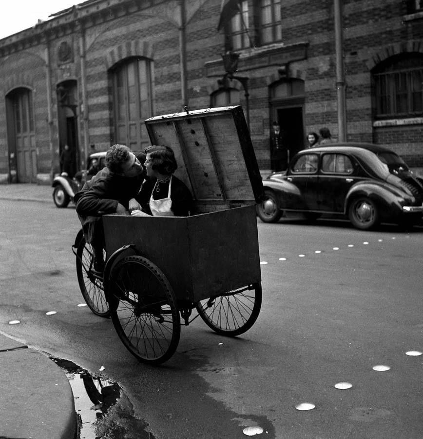 ROBERT DOISNEAU 5罗伯特Doisneau  - 在巴黎的照片的人,谁唱