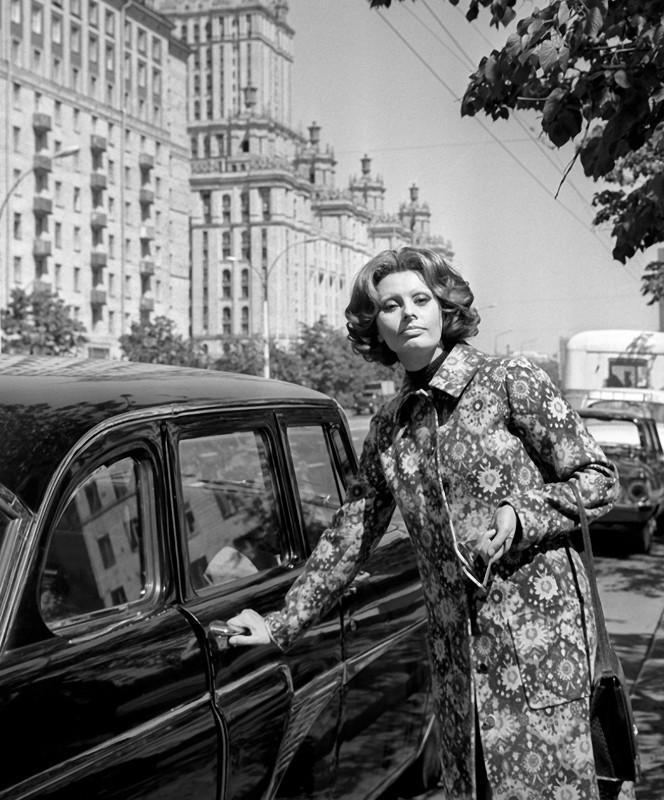 SophiaLoren04 Софи Лорен в Москве