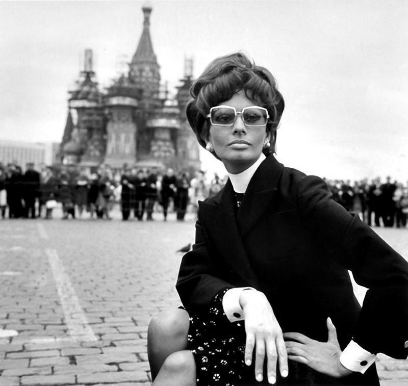 Софи Лорен в Москве