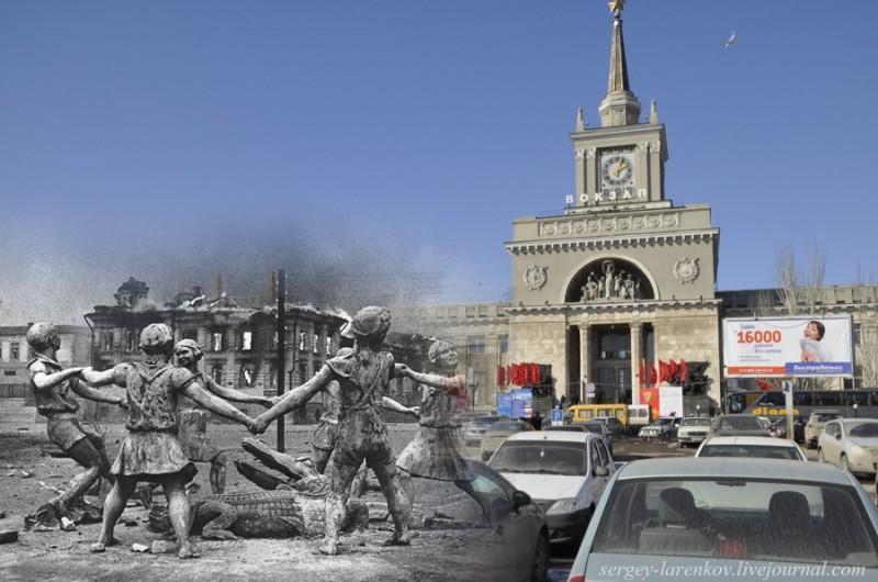 StalingradVolgograd 32 800x530 Сталинград 1942/43   Волгоград 2013