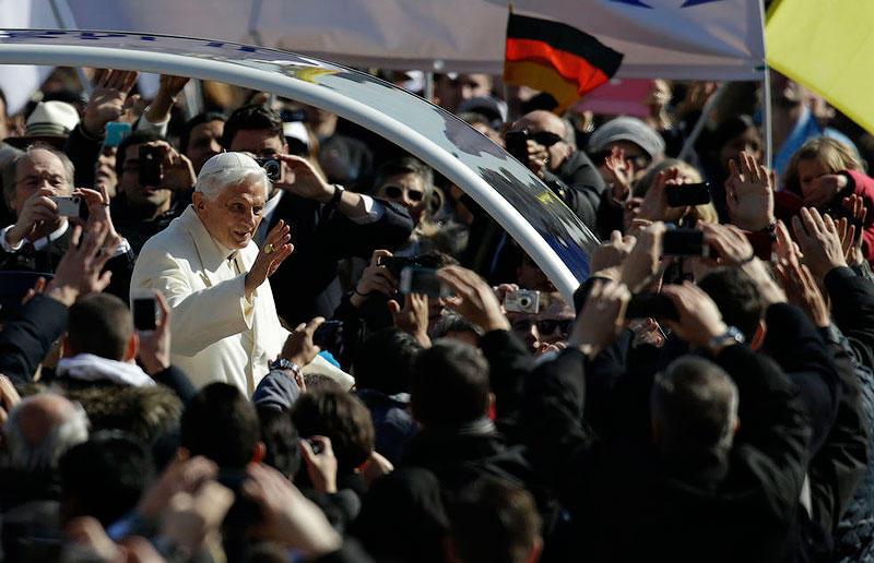 Последняя всеобщая аудиенция Папы Бенедикта XVI