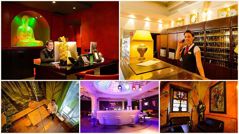 TEMP21 Пятерка необычных отелей Праги