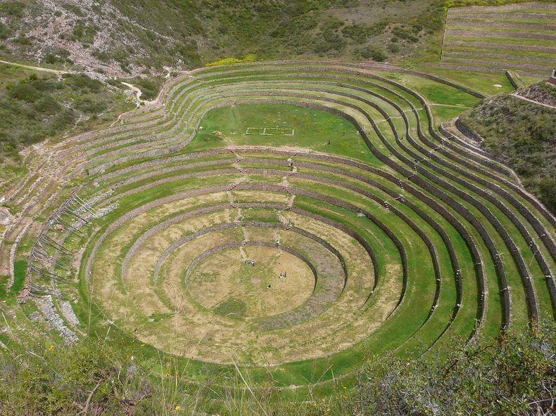 Terraces07 Мистические земледельческие террасы инков Морай