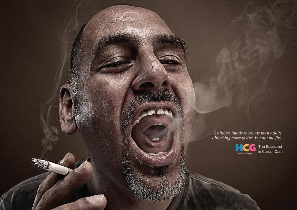 antitabachnayareklama 3 18 шедевров антитабачной рекламы со всего мира