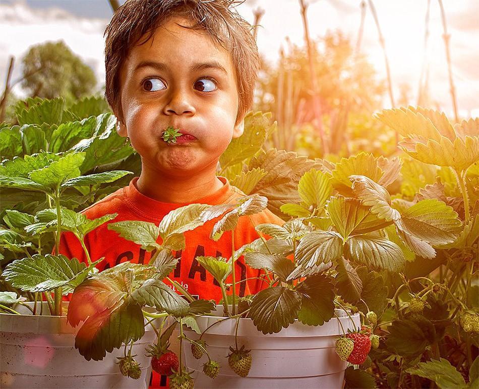 childhood02 Детство в кадре: папа фотографирует сына