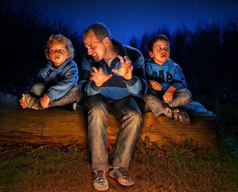 childhood10 800x645 6 лучших фотоисторий ко Дню отца
