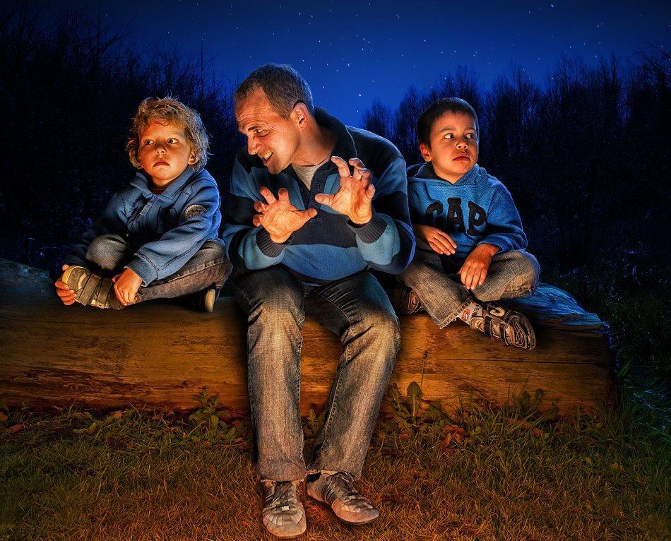 childhood10 Детство в кадре: папа фотографирует сына