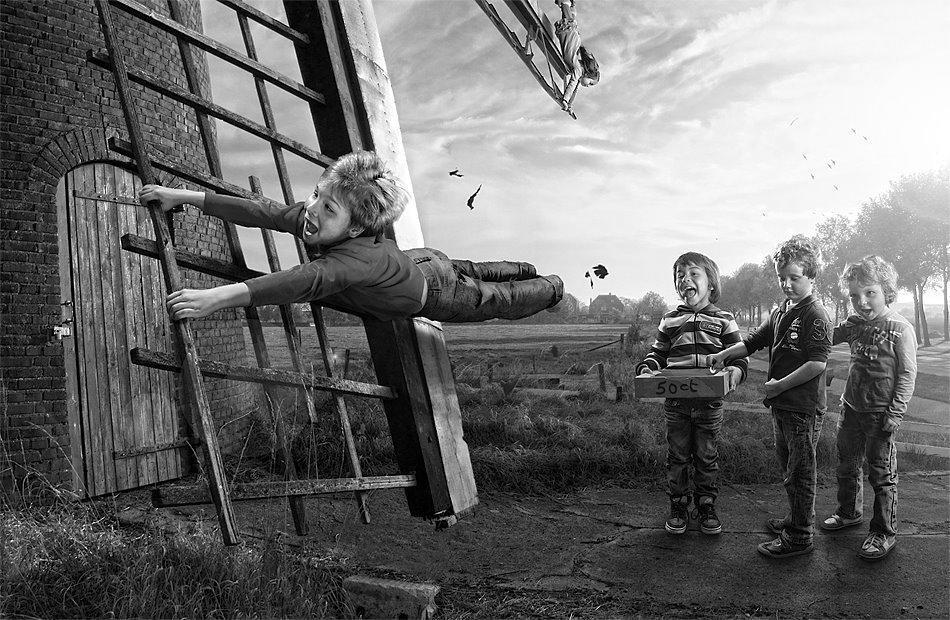 childhood18 Детство в кадре: папа фотографирует сына