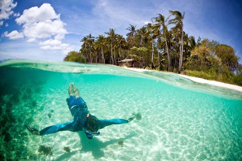 clearwater01 Места с чистейшей водой, где очень хочется искупаться