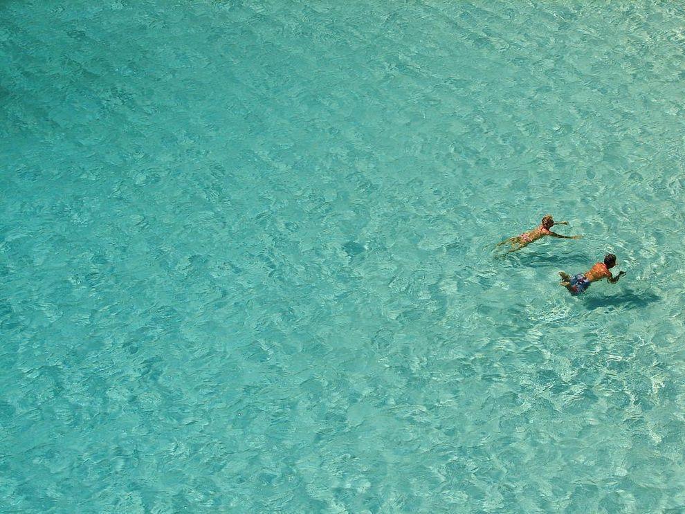 clearwater05 Места с чистейшей водой, где очень хочется искупаться