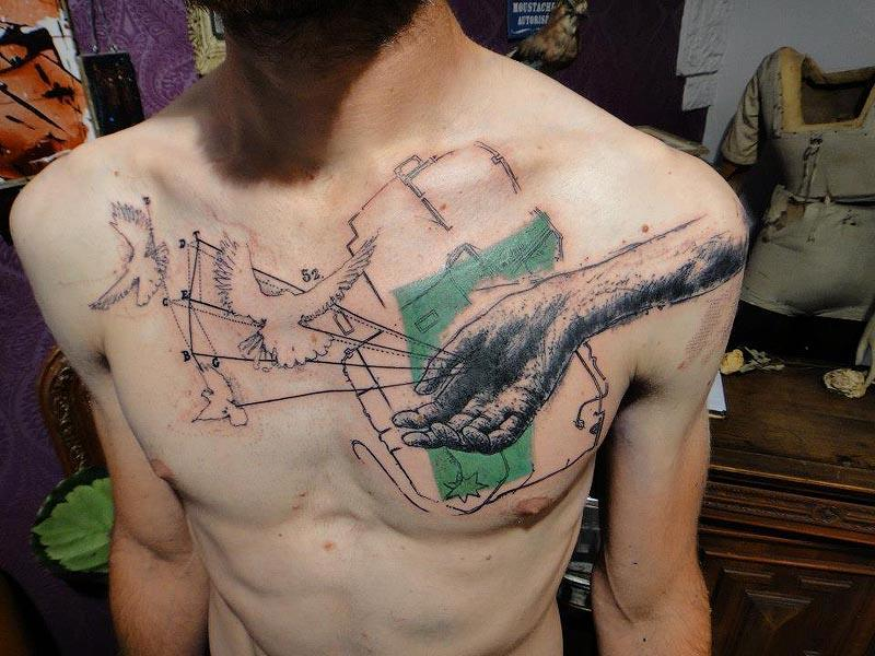 different styles of tattoos The most popular types of tribal tattoos can be narrowed down to seven different groups these types are commonly referred to as hawaiian flower, indian, letter, heart, sun, superman and rose tribal tattoos.