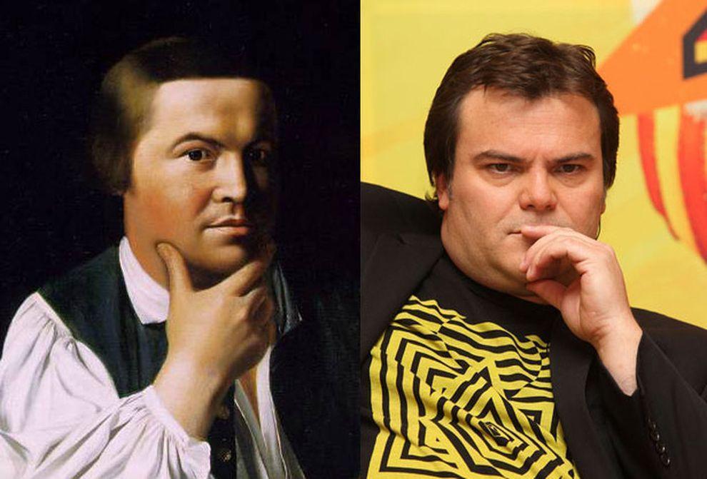 Исторические двойники знаменитостей