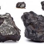 Первые студийные фотографии Челябинского метеорита «Чебаркуль»