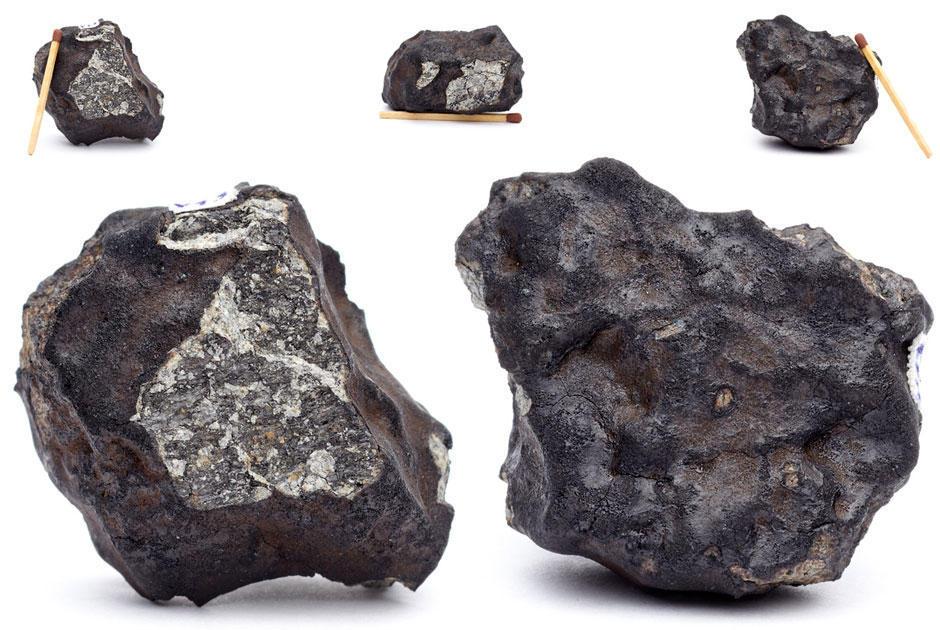 fotosesiyameteorita 1 Первые студийные фотографии Челябинского метеорита «Чебаркуль»