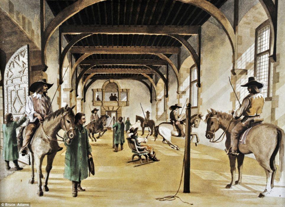 horse ballet school 14 Балетная школа для лошадей