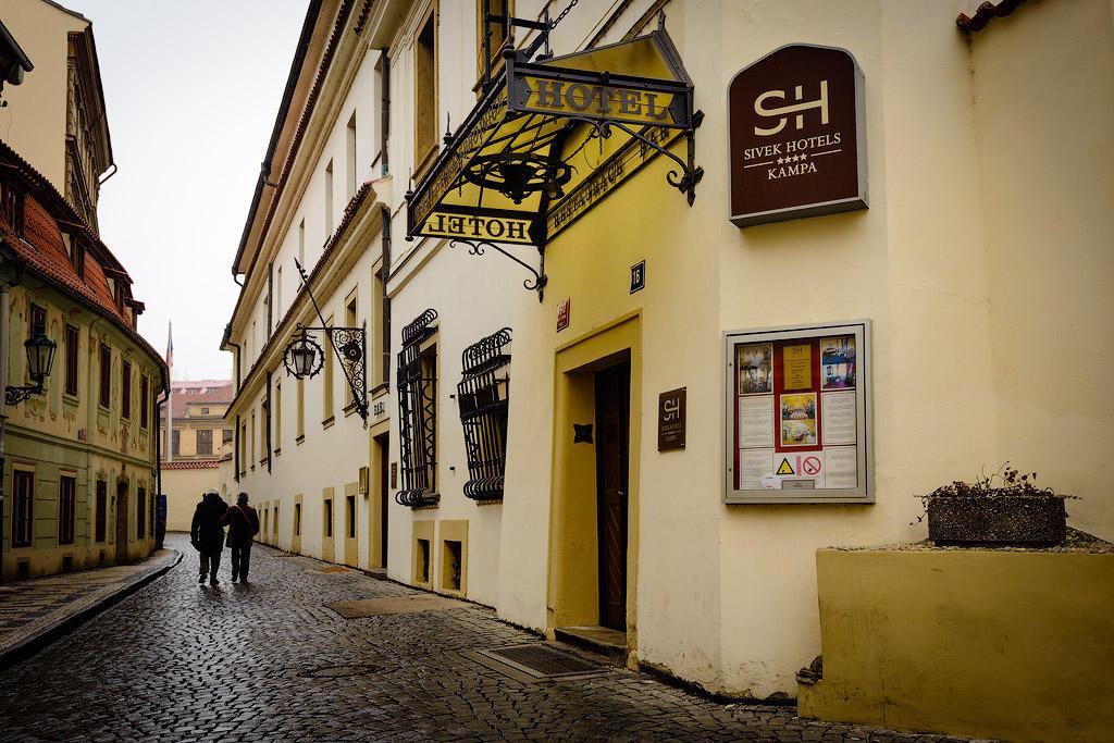 kampa01 Пятерка необычных отелей Праги