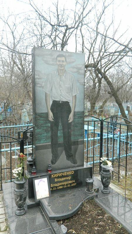 Могилы цыганских авторитетов в Украине