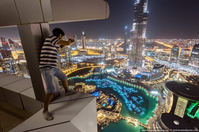 nakrishaxdubaya 11 800x533 Российские руферы на крышах Дубая
