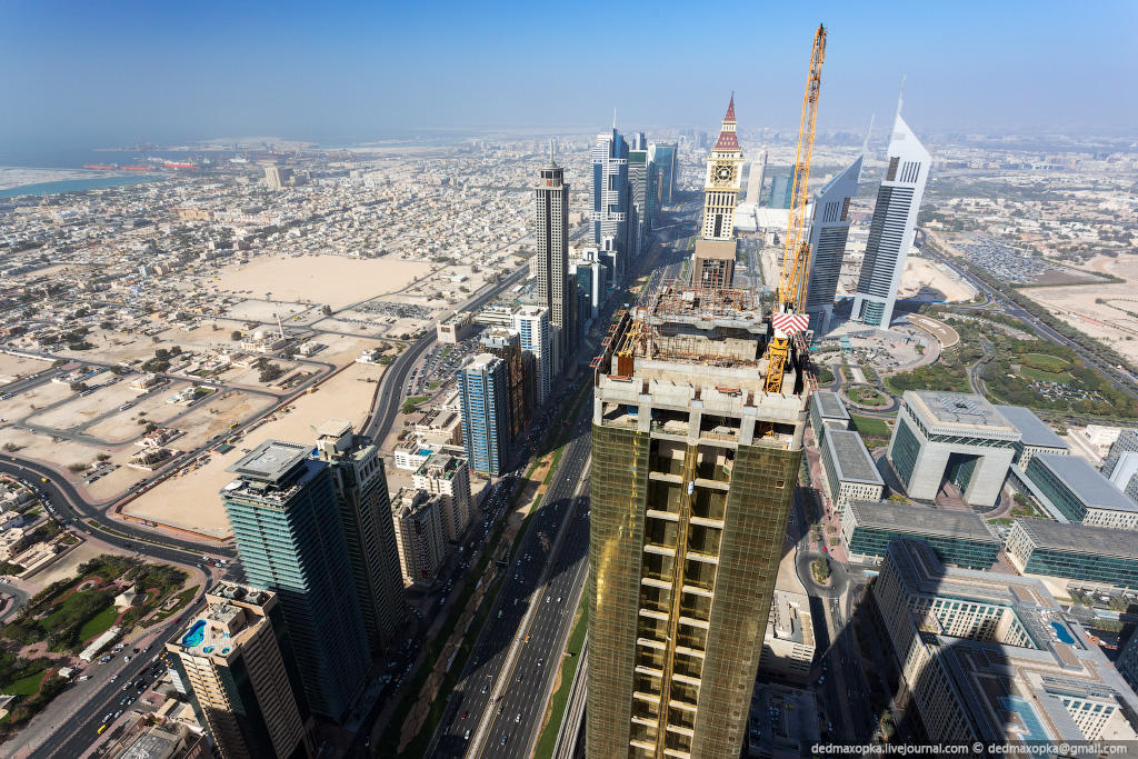 nakrishaxdubaya 14 Российские руферы на крышах Дубая