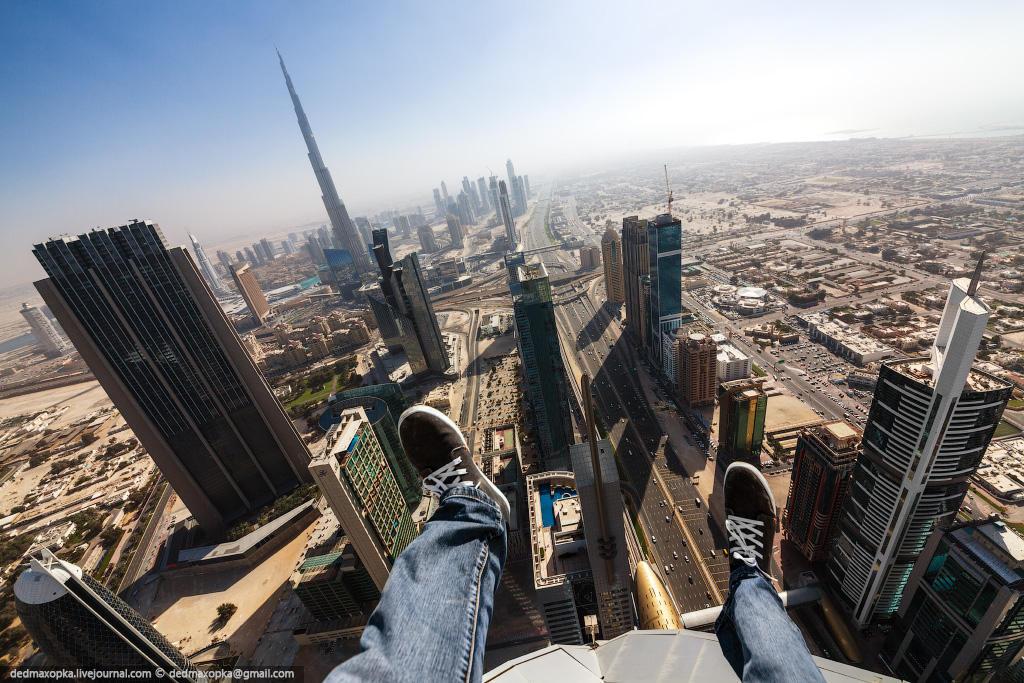 nakrishaxdubaya 15 Российские руферы на крышах Дубая