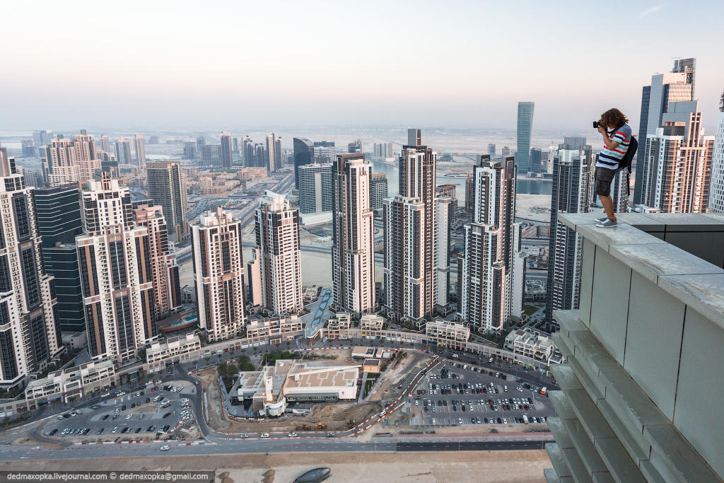 nakrishaxdubaya 2 Российские руферы на крышах Дубая