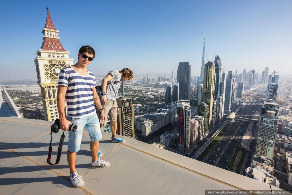 nakrishaxdubaya 23 Российские руферы на крышах Дубая