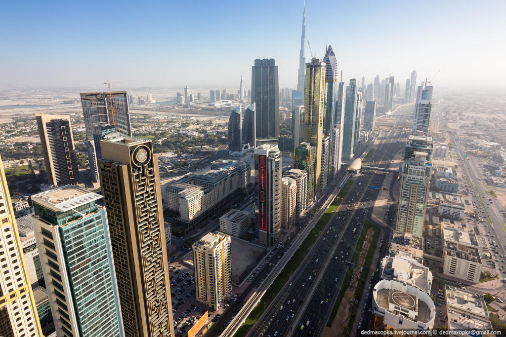 nakrishaxdubaya 24 Российские руферы на крышах Дубая