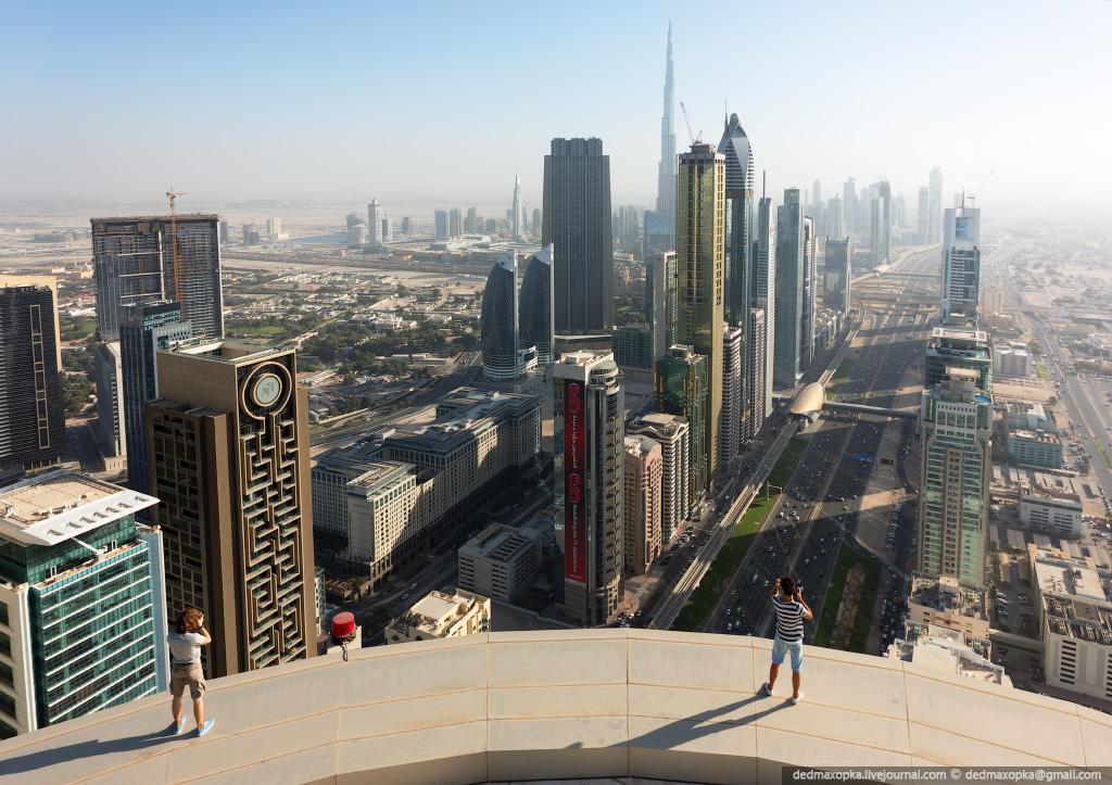 nakrishaxdubaya 26 Российские руферы на крышах Дубая