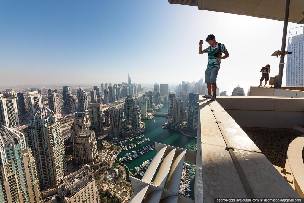 nakrishaxdubaya 33 Российские руферы на крышах Дубая