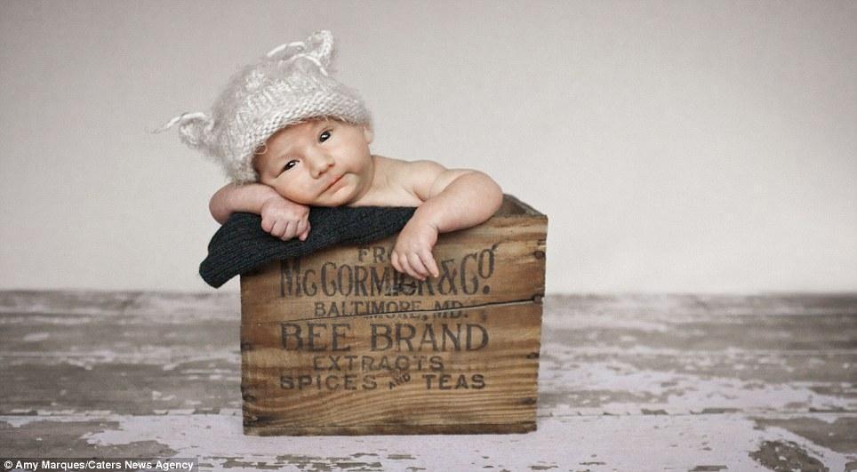 newborns08 Шапочки для новорожденных